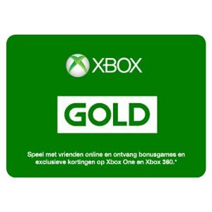 Carte Cadeau Xbox Live Gold